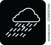 rain cloud icon for web and... | Shutterstock .eps vector #1230031966