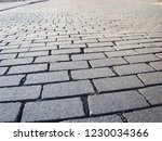 perspective view monotone gray... | Shutterstock . vector #1230034366
