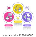 study  party and rest time...   Shutterstock .eps vector #1230060880