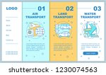 modes of transports onboarding... | Shutterstock .eps vector #1230074563