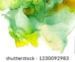 alcohol ink texture. fluid ink... | Shutterstock . vector #1230092983