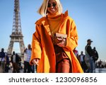paris  france  september 26... | Shutterstock . vector #1230096856