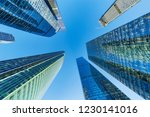 exterior of the office... | Shutterstock . vector #1230141016