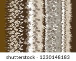 flowers pattern for textile ... | Shutterstock . vector #1230148183