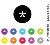 an illustrated icon in an array ... | Shutterstock .eps vector #1230157660