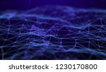 abstract technology background. ... | Shutterstock . vector #1230170800