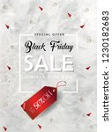 black friday sale discount... | Shutterstock .eps vector #1230182683