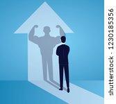 vector illustration. business... | Shutterstock .eps vector #1230185356