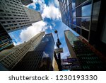 road and building in new york...   Shutterstock . vector #1230193330