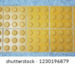 tactile paving for blind people | Shutterstock . vector #1230196879
