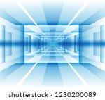abstract perspective vector...   Shutterstock .eps vector #1230200089