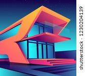 vector illustration background... | Shutterstock .eps vector #1230204139