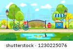 urban vector design of colorful ... | Shutterstock .eps vector #1230225076