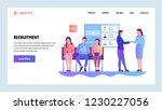 vector web site gradient design ... | Shutterstock .eps vector #1230227056