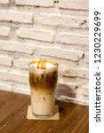 ice caramel macchiato in the... | Shutterstock . vector #1230229699