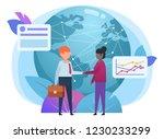 globalization  worldwide... | Shutterstock .eps vector #1230233299