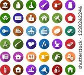 color back flat icon set  ... | Shutterstock .eps vector #1230262246