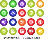 round color solid flat icon set ... | Shutterstock .eps vector #1230264286