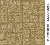 rusty seamless pattern. angular ... | Shutterstock .eps vector #1230293056