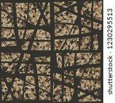 rusty seamless pattern.... | Shutterstock .eps vector #1230295513
