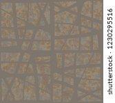rusty seamless pattern.... | Shutterstock .eps vector #1230295516