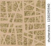 rusty seamless pattern.... | Shutterstock .eps vector #1230295540