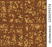 rusty seamless pattern.... | Shutterstock .eps vector #1230295576