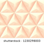 abstract textured geometric... | Shutterstock . vector #1230298003