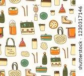 vector illustration with... | Shutterstock .eps vector #1230317146