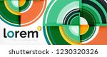 circle abstract background ... | Shutterstock .eps vector #1230320326