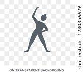 exercise icon. trendy flat...   Shutterstock .eps vector #1230356629