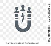 user attraction icon. trendy... | Shutterstock .eps vector #1230360526