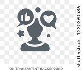 social media specialist icon.... | Shutterstock .eps vector #1230360586