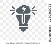 invention icon. trendy flat... | Shutterstock .eps vector #1230360736