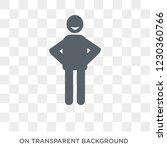 satisfied human icon. trendy...   Shutterstock .eps vector #1230360766