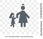 grandchild icon. trendy flat...   Shutterstock .eps vector #1230363370