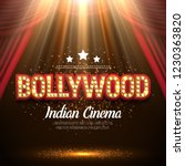 bollywood indian cinema. movie... | Shutterstock .eps vector #1230363820