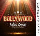 bollywood indian cinema. movie... | Shutterstock .eps vector #1230363820