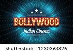 bollywood indian cinema. movie... | Shutterstock .eps vector #1230363826