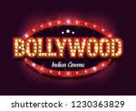 bollywood indian cinema. movie... | Shutterstock .eps vector #1230363829