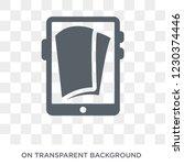book reader icon. trendy flat... | Shutterstock .eps vector #1230374446