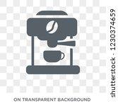 espresso maker icon. trendy... | Shutterstock .eps vector #1230374659