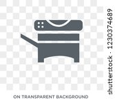 copy machine icon. trendy flat... | Shutterstock .eps vector #1230374689