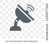 antenna icon. trendy flat... | Shutterstock .eps vector #1230377263