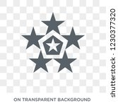 Star ornament of triangles icon. Star ornament of triangles design concept from Geometry collection. Simple element vector illustration on transparent background.