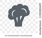 broccoli icon. broccoli design... | Shutterstock .eps vector #1230382609