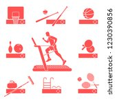 time to fitness and sports.... | Shutterstock .eps vector #1230390856