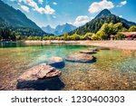 sunny morning view of jasna... | Shutterstock . vector #1230400303