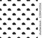 cloud pattern vector seamless...