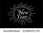 happy new year 2019. holiday... | Shutterstock .eps vector #1230431170